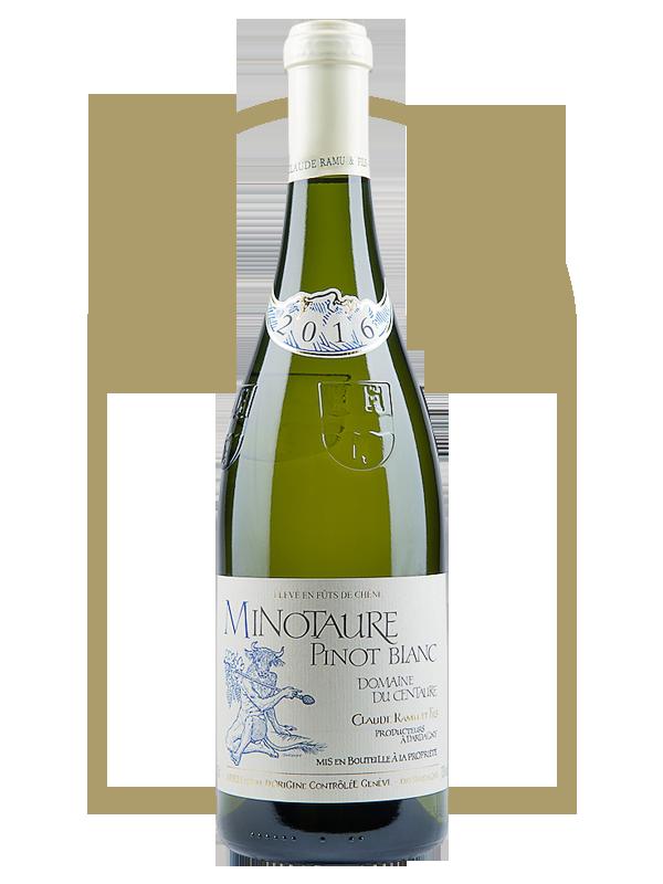 Minotaure Pinot Blanc élevé en Fût de Chêne